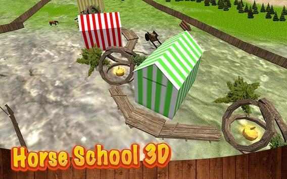 Horse School 3D apk screenshot