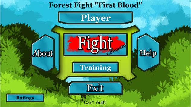 Forest Fight Free poster