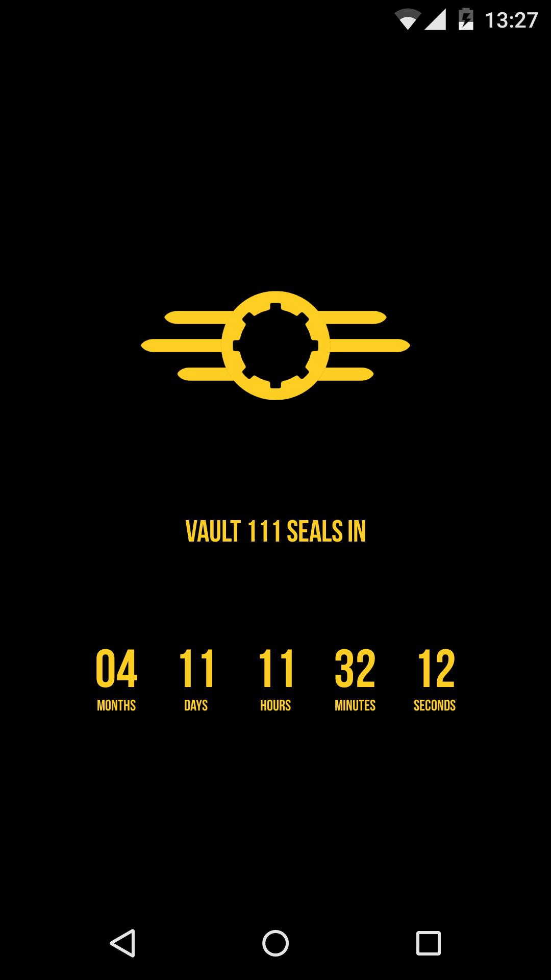 Countdown Wallpaper Fallout 4 For Android Apk Download