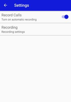 Call Recorder For Unlimited screenshot 1