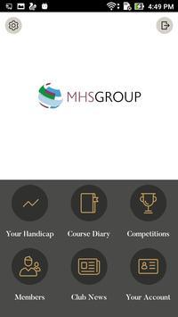 MHS GOLF poster