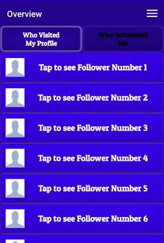 Who visited my profile apk screenshot