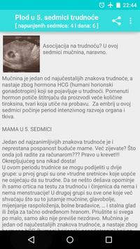 Trudnoća i razvoj bebe apk screenshot