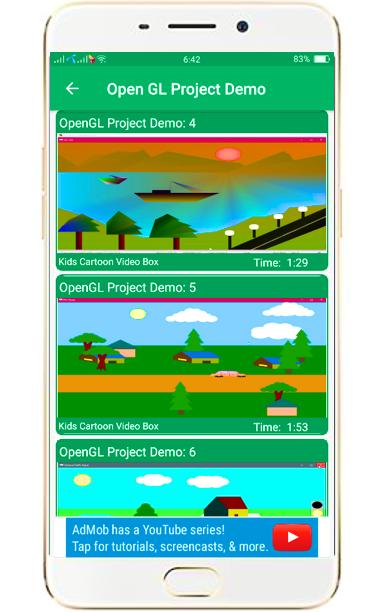 Open GL Project With Source Code for Android - APK Download