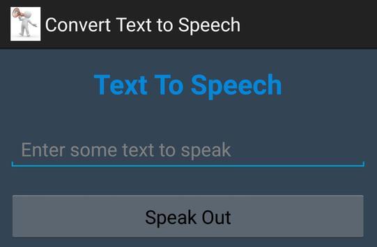 CONVERT TEXT TO SPEECH, Learn poster