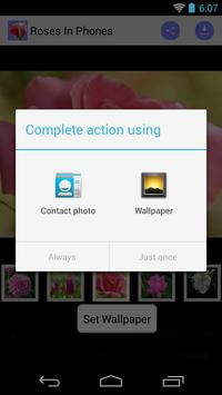 Phone Wallpaper of Roses screenshot 3