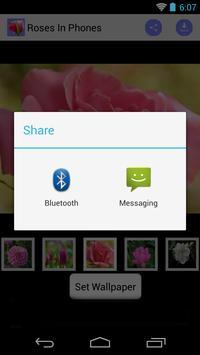 Phone Wallpaper of Roses screenshot 2