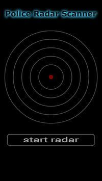 Police Radar Scanner poster