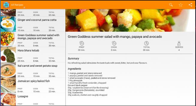 Cook and taste screenshot 5