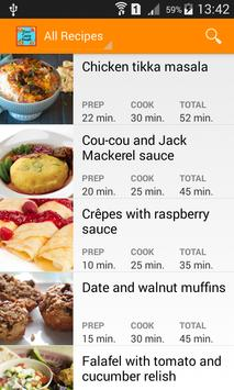Cook and taste screenshot 1