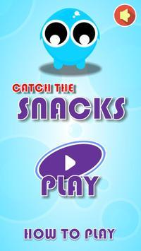 Atıştırmalıkları Yakalama Oyunu poster