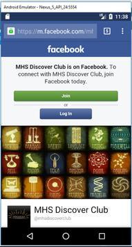 MHS Discover Club screenshot 2