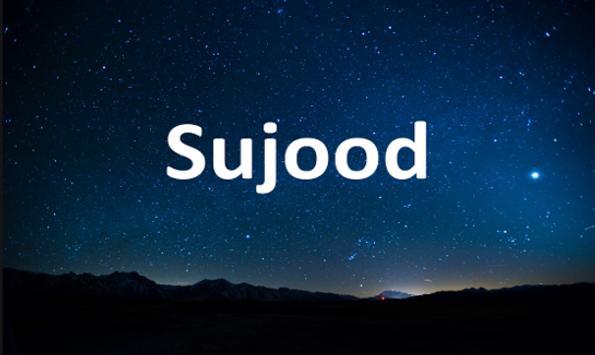 Sujood poster