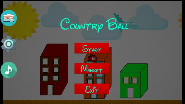CountryBall FLY poster