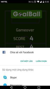 Goal Ball apk screenshot