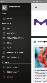 Merck Asia Events apk screenshot