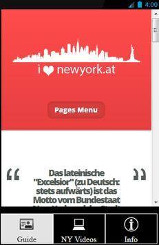 NYC Guide von ilovenewyork.at poster