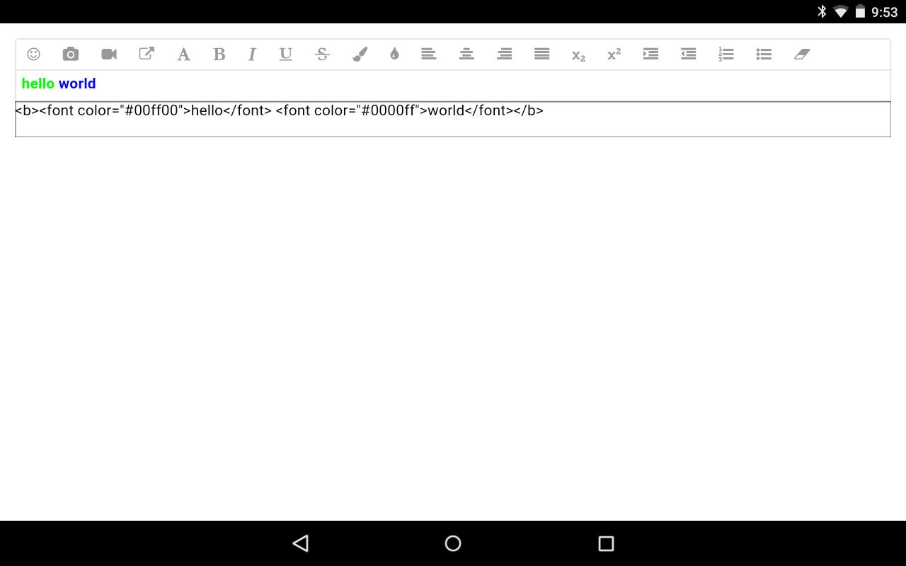 WYSIWYG Editor for Android - APK Download