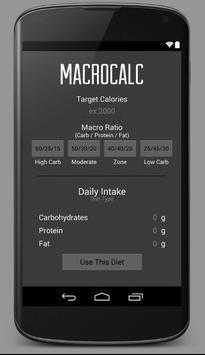 MacroCalc poster