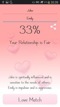 Love Match Calculator poster