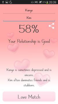 Love Match Calculator apk screenshot