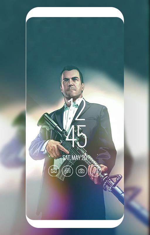 michael gta 5 wallpaper HD for Android - APK Download