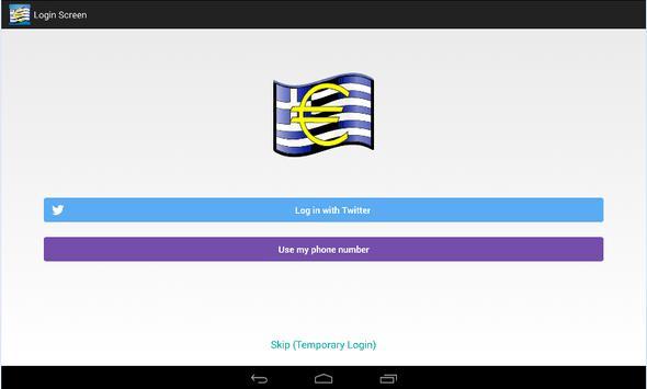 Greek Crisis Watch apk screenshot
