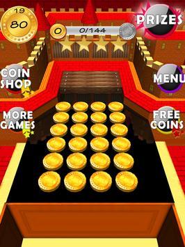 Gold Coin Dozer Castle Arcade apk screenshot