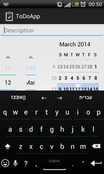 ToDoApp apk screenshot