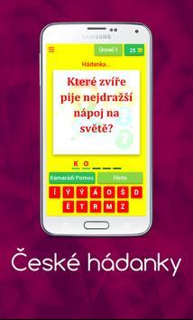 České hádanky poster