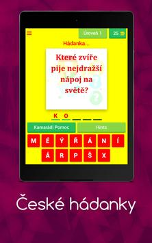 České hádanky screenshot 14