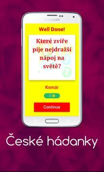 České hádanky screenshot 1