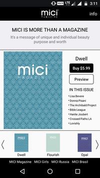 Mici Magazine poster