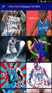 Chris Paul Wallpaper HD NBA poster