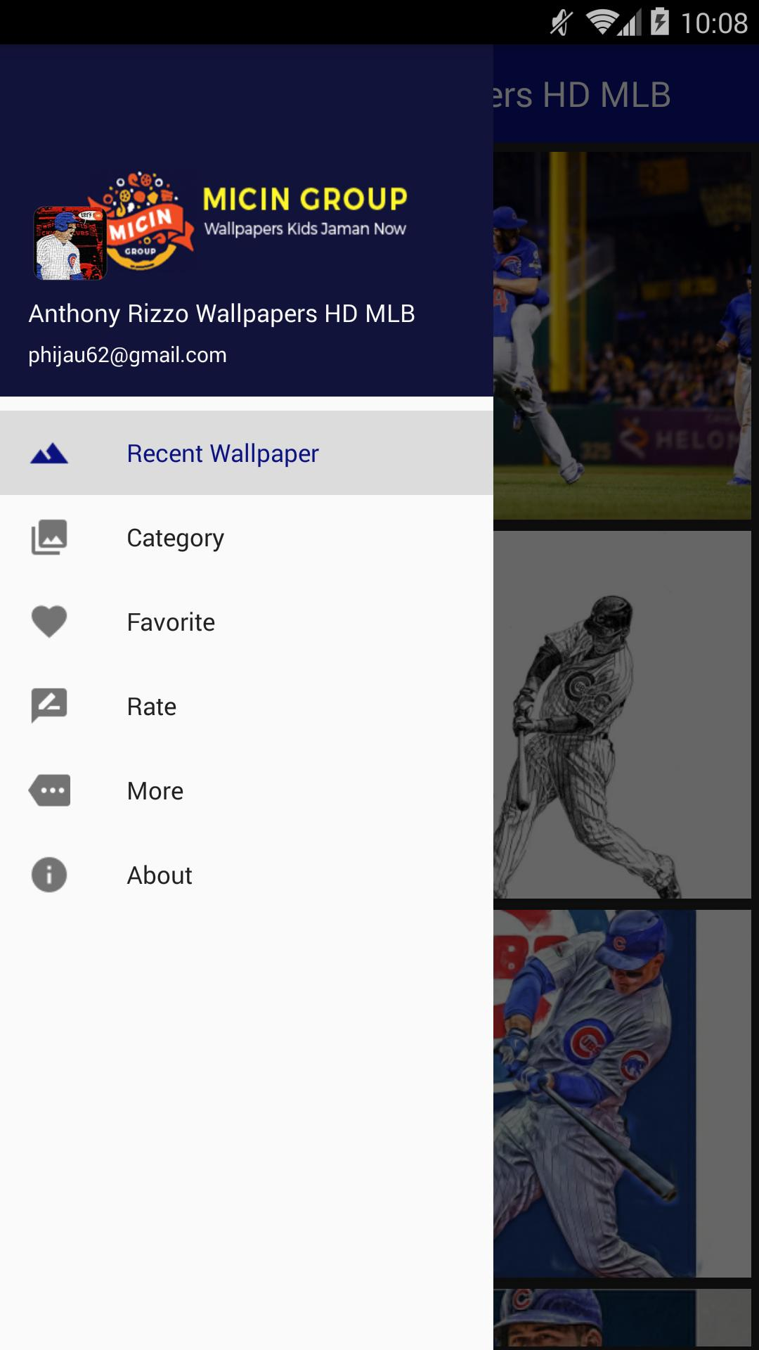 Anthony Rizzo Wallpapers HD MLB poster