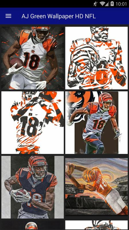 AJ Green Wallpaper HD NFL Poster Apk Screenshot