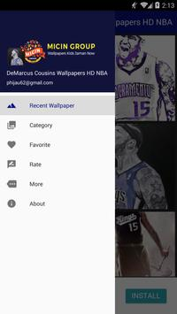 DeMarcus Cousins Wallpapers HD NBA poster