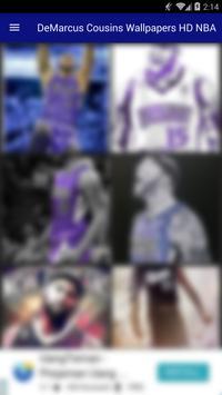 DeMarcus Cousins Wallpapers HD NBA apk screenshot