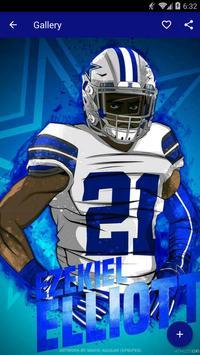 Ezekiel Elliott Wallpaper HD NFL apk screenshot