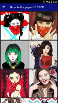 4Minute Wallpaper HD KPOP screenshot 1
