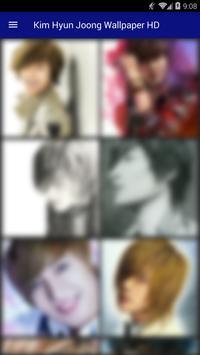 Kim Hyun Joong Wallpaper HD screenshot 1