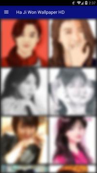 Ha Ji Won Wallpaper HD screenshot 4