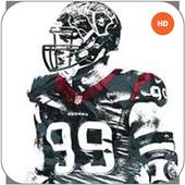 JJ Watt Wallpaper HD NFL icon