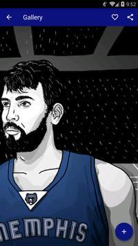 Marc Gasol Wallpapers HD NBA apk screenshot