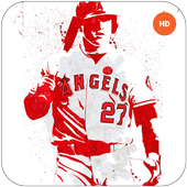 Mike Trout Wallpapers HD MLB icon