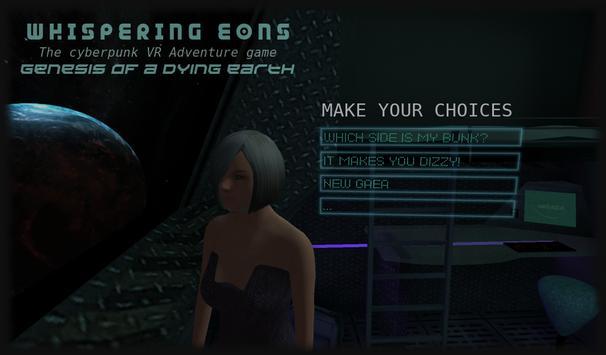 Whispering Eons #0 (VR Cardboard adventure game) apk screenshot