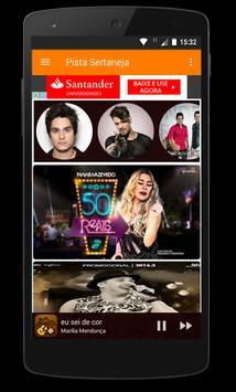 Pista Sertaneja App apk screenshot