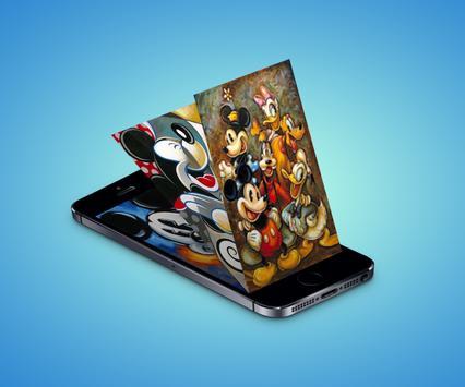 Wallpaper Mickey for HD screenshot 2
