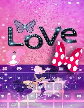 Mickey.M cute theme keyboard apk screenshot