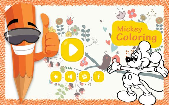 Coloring Book of Mickey Little screenshot 3